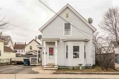 Nashua Single Family Home For Sale: 7 Wilder Street
