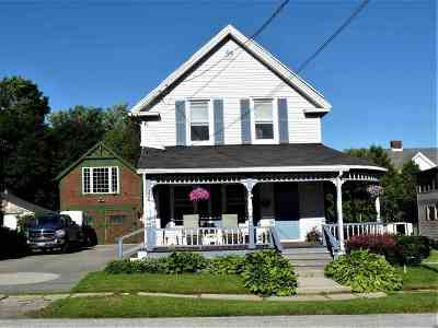 Rutland City VT Single Family Home For Sale: $159,900