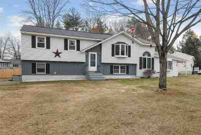 Strafford County Single Family Home Active Under Contract: 17 Maplewood Avenue