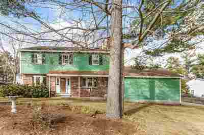 Nashua Single Family Home Active Under Contract: 104 Lund Road