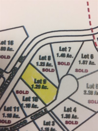 Meredith Residential Lots & Land For Sale: Lot 9 Maplewood Circle