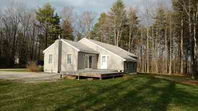 Belknap County Single Family Home For Sale: 395 Dudley Road