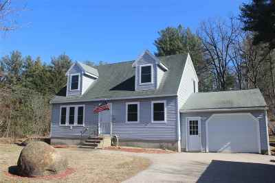 Nashua Single Family Home Active Under Contract: 598 West Hollis Street