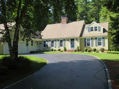 Amherst Single Family Home Active Under Contract: 49 Governor Wentworth Road