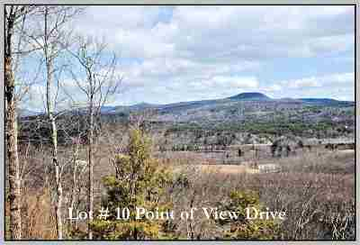 Plymouth Residential Lots & Land For Sale: Lot # 10 Point Of View Drive