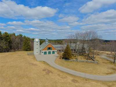 Strafford County Single Family Home For Sale: 84 Canaan Back Road