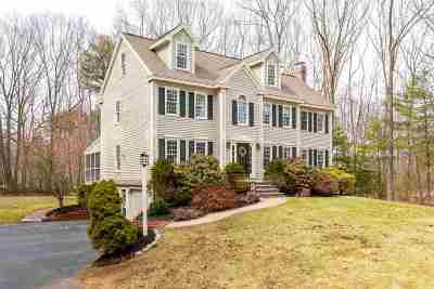Single Family Home Active Under Contract: 2 Bear Path