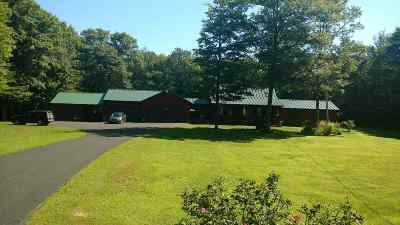 Strafford County Single Family Home For Sale: 1045 Ten Rod Road