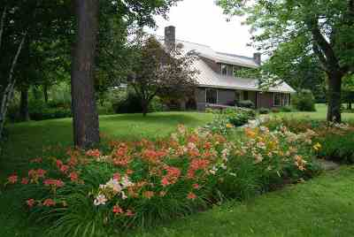 Underhill Single Family Home For Sale: 464 Pleasant Valley Road
