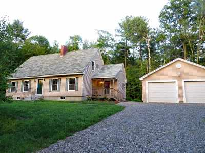 Moultonborough Single Family Home For Sale: 70 Ossipee Mountain Road