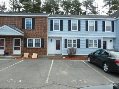 Concord NH Condo/Townhouse For Sale: $121,900