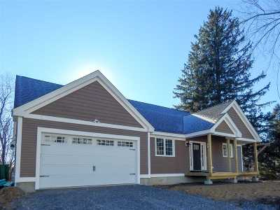 Rollinsford Single Family Home For Sale: Lot 1 Spruce Street #1