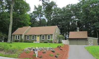 Bow Single Family Home For Sale: 298 Page Road