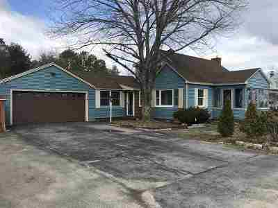 Rochester Single Family Home For Sale: 114 Milton Road
