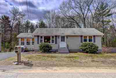 Hooksett Single Family Home Active Under Contract: 29 Hale Avenue