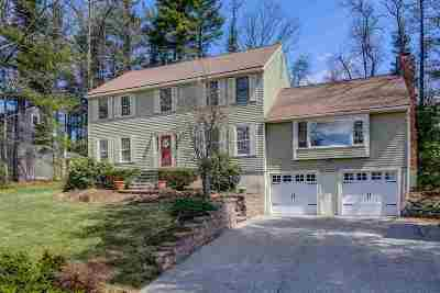 Nashua Single Family Home Active Under Contract: 14 Whitman Road