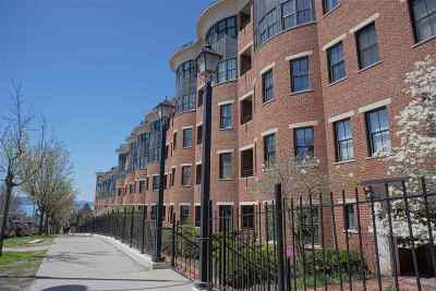Chittenden County Condo/Townhouse For Sale: 40 College Street #309