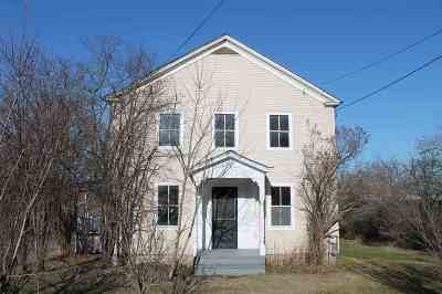 Chittenden County Single Family Home For Sale: 10542 Route 116