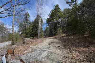Merrimack County Residential Lots & Land For Sale: North Road