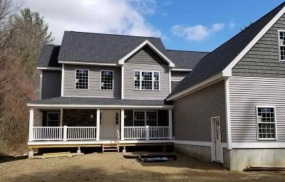 Amherst Single Family Home For Sale: 9 Mont Vernon Road
