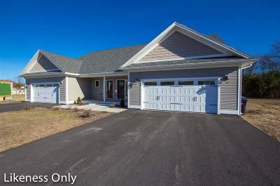 Chittenden County Single Family Home For Sale: 62 Chase Court