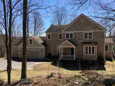 Chittenden County Single Family Home For Sale: 150 Wildwood Drive