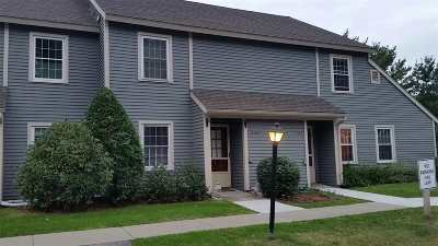 Chittenden County Condo/Townhouse For Sale: 80 Austin Drive #242
