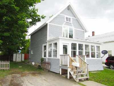 Richford VT Single Family Home Active Under Contract: $69,000