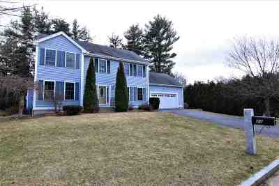 Merrimack County Single Family Home Active Under Contract: 23 Bainbridge Drive