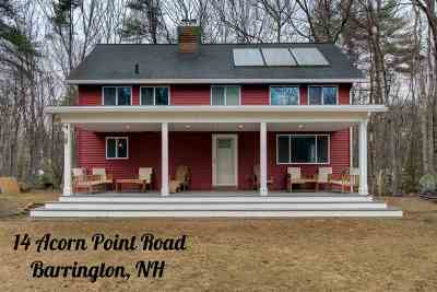 Strafford County Single Family Home For Sale: 14 Acorn Point