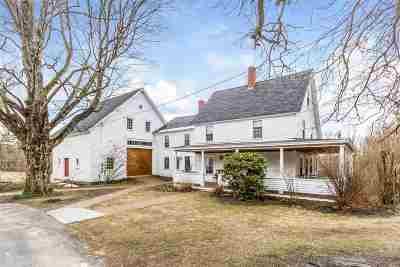 Merrimack County Single Family Home Active Under Contract: 140 Bow Bog Road