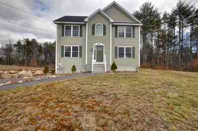 Weare Single Family Home Active Under Contract: 46 Hilbren Road