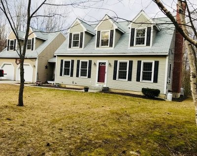 Merrimack County Single Family Home For Sale: 168 N Pembroke Road