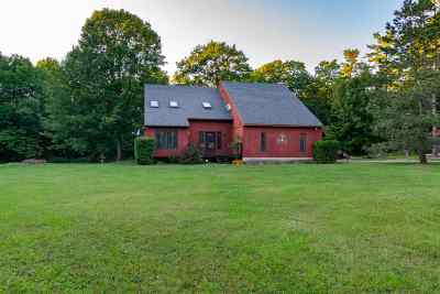 Colchester Single Family Home For Sale: 590 Red Rock Road