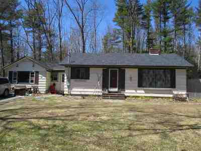 Rochester Single Family Home For Sale: 88 Tebbetts Road