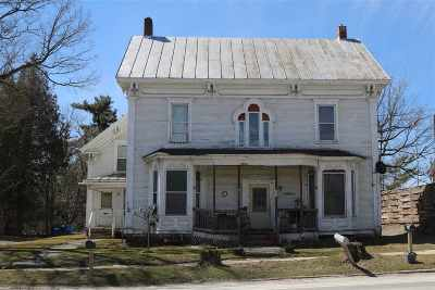Enosburg Multi Family Home For Sale: 487 Main Street