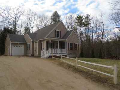 Moultonborough Single Family Home For Sale: 63 Geneve Street
