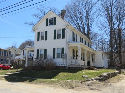 Strafford County Multi Family Home For Sale: 49-51 Court Street
