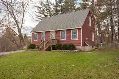 Dover Single Family Home For Sale: 20 Back Road