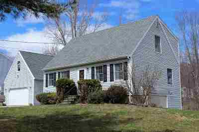 Dover Single Family Home For Sale: 14 Back Road
