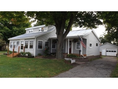 Swanton Single Family Home For Sale: 5 Greenwich Street