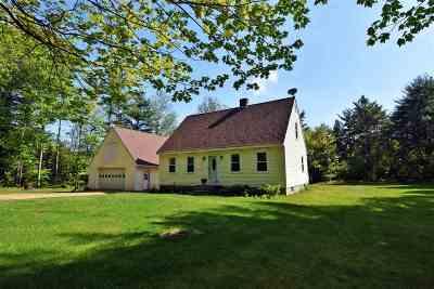 Belknap County Single Family Home For Sale: 156 Burke Road
