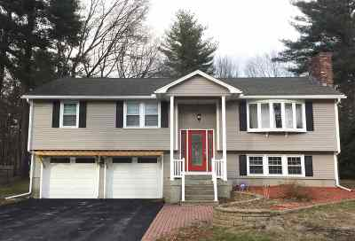 Merrimack Single Family Home Active Under Contract: 3 Greenwich Drive