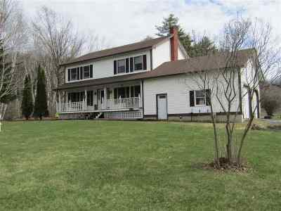 Orwell Single Family Home For Sale: 237 Royce Hill Road