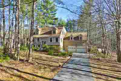Merrimack Single Family Home Active Under Contract: 202 Baboosic Lake Road