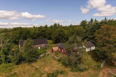 Wolfeboro Single Family Home Active Under Contract: 246 Haines Hill Road