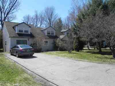 South Burlington Single Family Home Active Under Contract: 17 Brewer Parkway