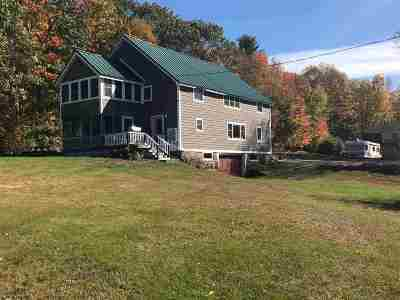 Bridgewater Single Family Home Active Under Contract: 1096 Mayhew Turnpike