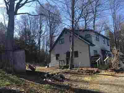 Essex Single Family Home For Sale: 177 Browns River (Route 128) Road