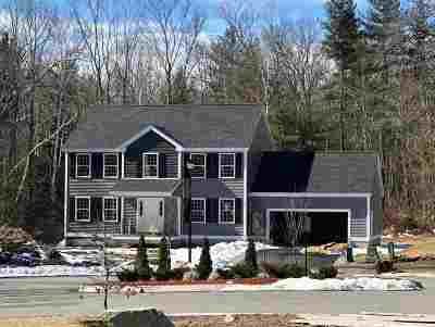 Nashua Single Family Home For Sale: 9 Cotillion Lane #Lot 2875